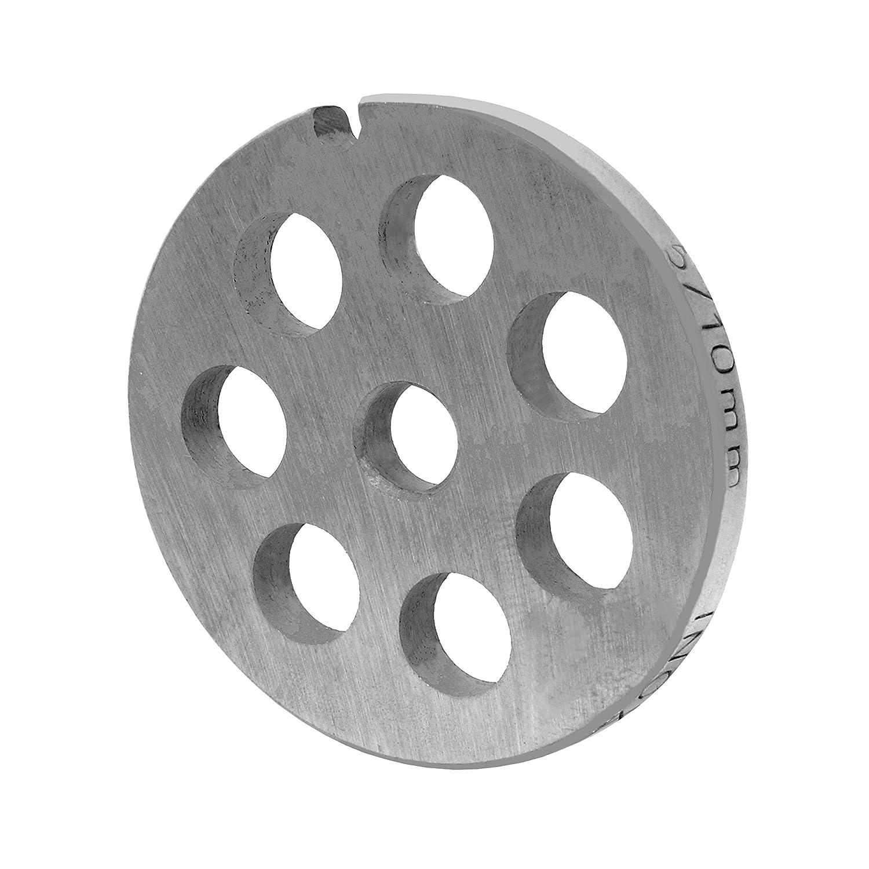 Inox Foro Disco GR. 5 –  10, 0 mm Foro –  per tritacarne Jupiter –  BOSCH –  Alexander ottico 0mm Foro-per tritacarne Jupiter-BOSCH-Alexander ottico Jpc-WolfCut GmbH