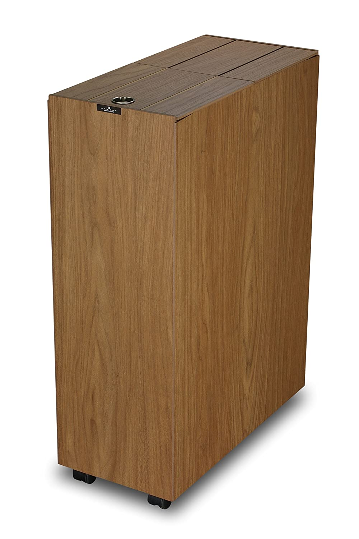 橋本達之助工芸 ダストボックス 「バスク キッチンペール 45L」 ブラウン B012OO9136ブラウン