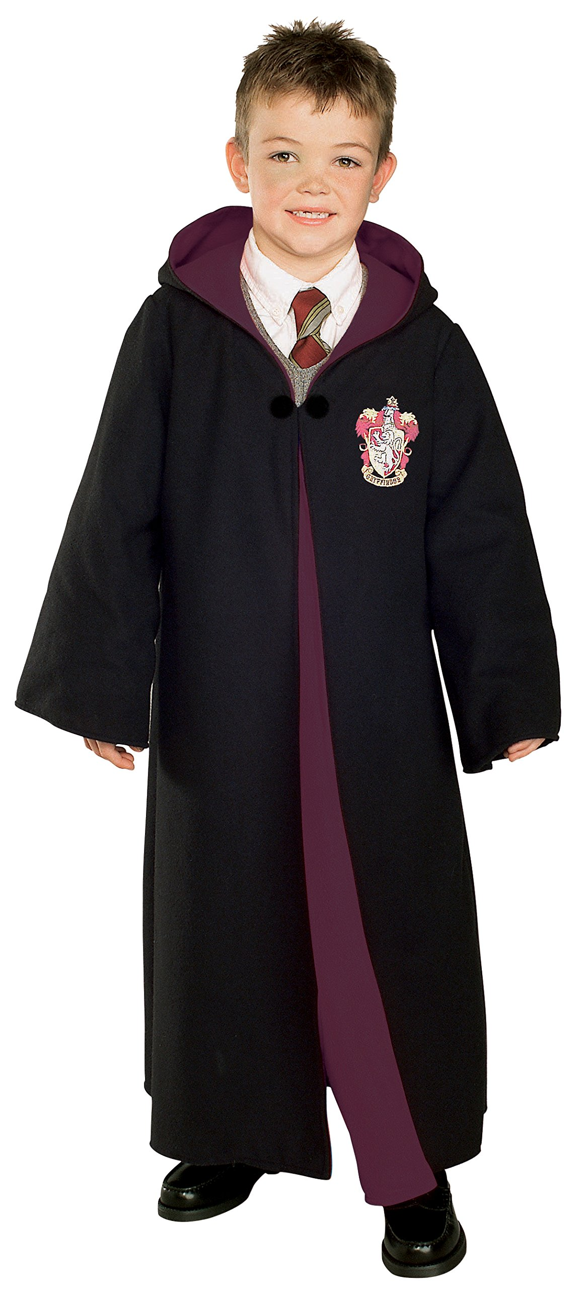 Rubie's Deluxe Harry Potter Child's Hermione Granger Costume Robe With Gryffindor Emblem, Large