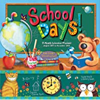 School Days 2016 Wall Planner (Calendar)