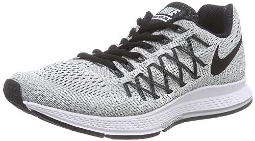 Nike Air Zoom Pegasus 32 Womens Running Trainer Grey Pure PlatinumDark Grey