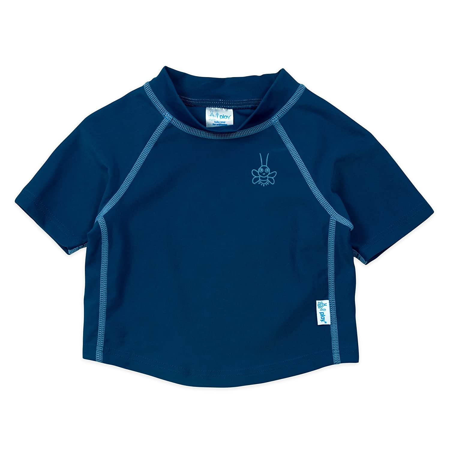 I-Play. Baby Boys' Short Sleeve Rashguard Shirt i play Children's Apparel