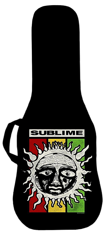 Sublime Rasta sol Logo oficial funda para guitarra eléctrica. Panel impreso es intercambiables: Amazon.es: Instrumentos musicales