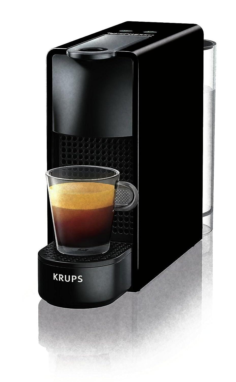 Máquina para café Krups xn1108 K - Essenza máquina para Espresso para cápsulas café Capacidad la Bidón 0,6 l de color negro: Amazon.es: Hogar
