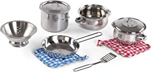 Cooking Essentials 10-pcs Stainless Steel Set