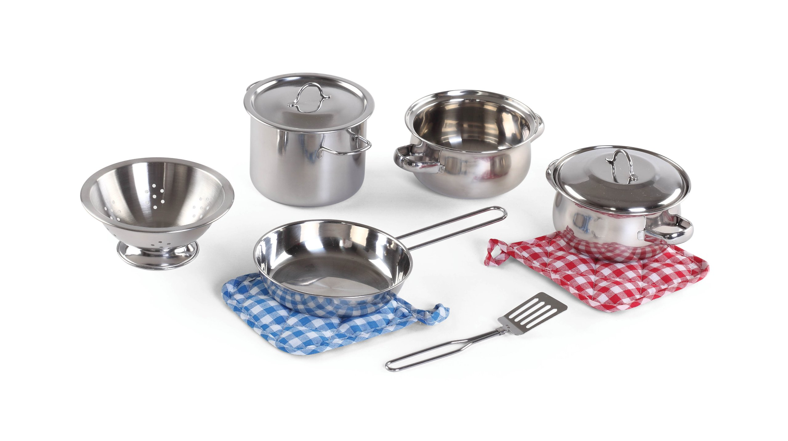 Step2 Cooking Essentials 10-Piece Stainless Steel Set (For Kids)