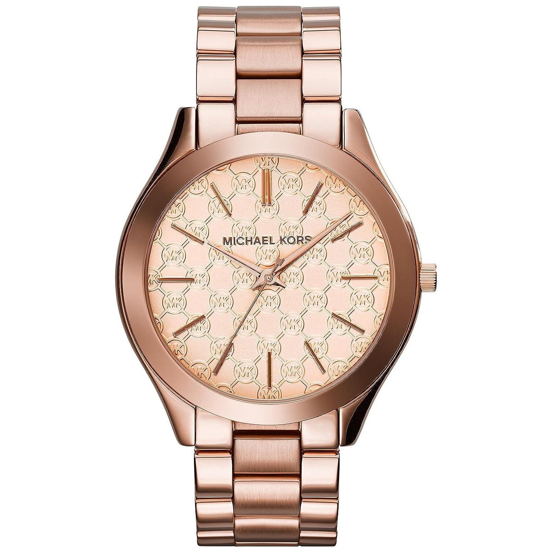 5211ce7cbeb6 Amazon.com  Michael Kors Women s  Runway  Quartz Stainless Steel Watch
