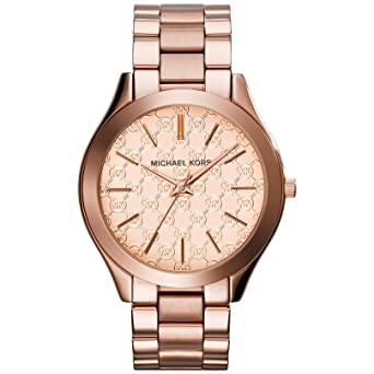 f4d8c1dc5dce Image Unavailable. Image not available for. Color  Michael Kors Women s   Runway  Quartz Stainless Steel Watch