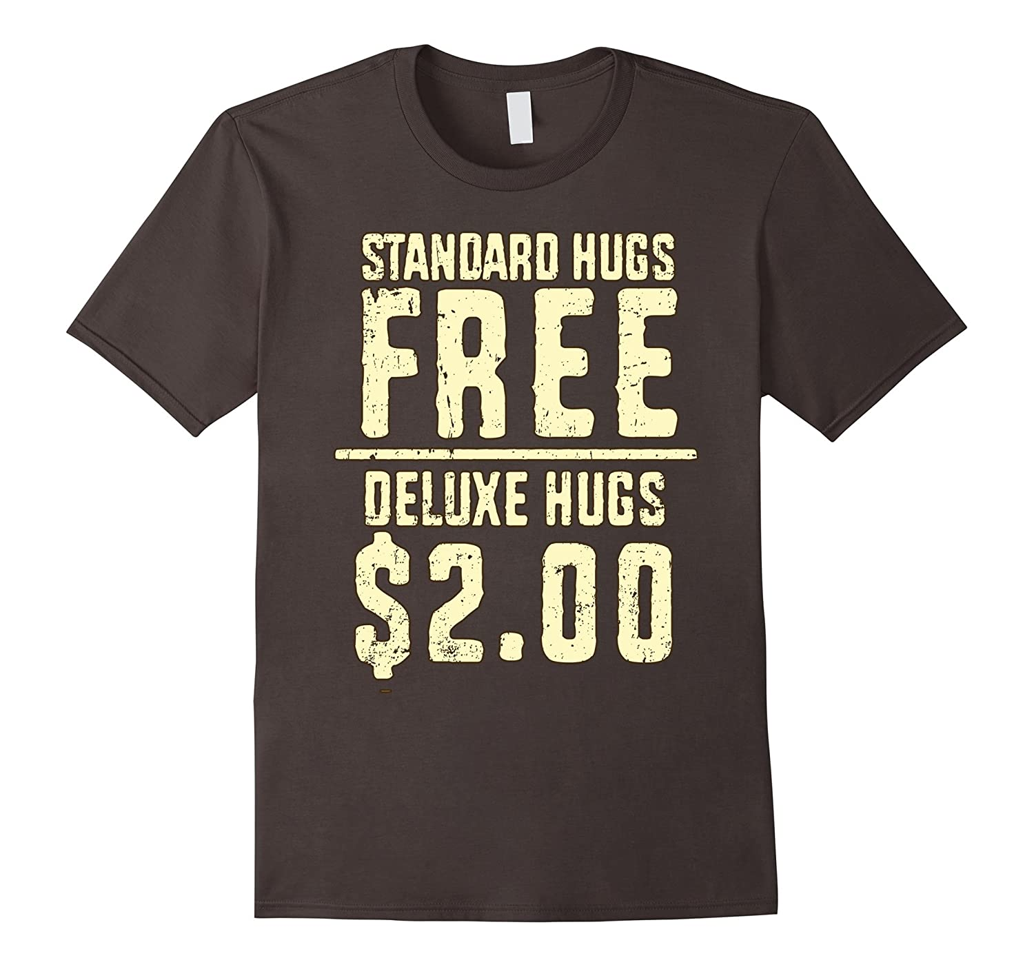 5 Colors- REGULAR HUGS DELUXE HUGS- Retro Distressed Look-FL
