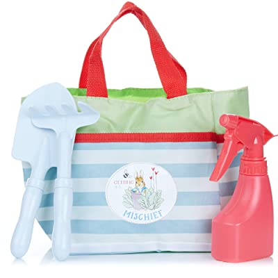 Peter Rabbit Garden Tote Bag with Accessories for Kids: Toys & Games