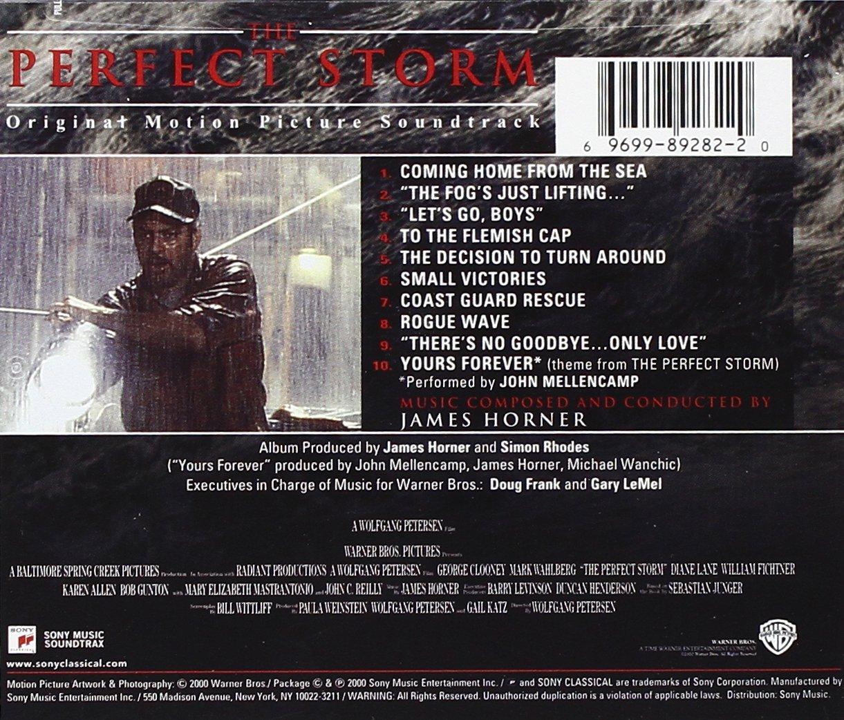 James Horner Horner James The Perfect Storm Original Motion Picture Soundtrack Amazon Com Music