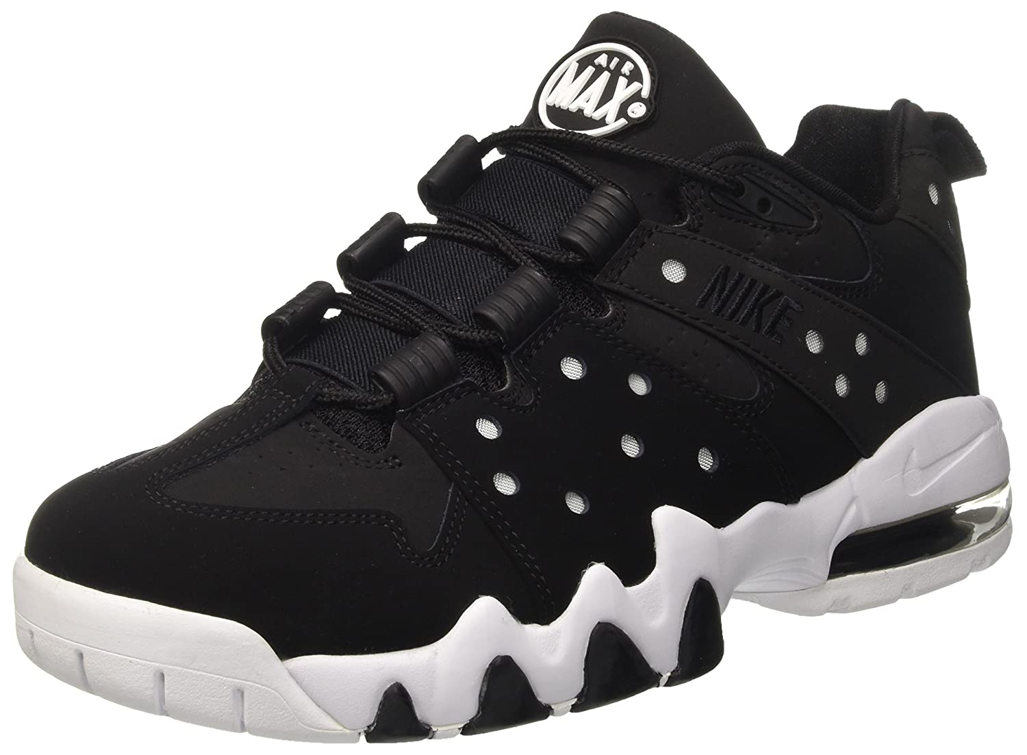 73bcf6c97fe64 Amazon.com | Nike Men's Air Max CB '94 Low Basketball Shoes Black ...
