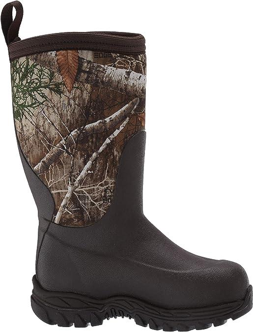 Muck Boot unisex-child Rugged II Snow Boot Brown//real Tree edge 7 medium US