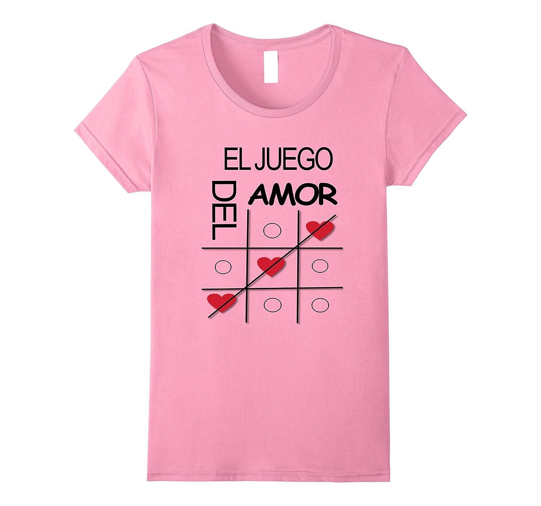 Womens Welcome T-shirt El juego del amor camisetas-ANZ