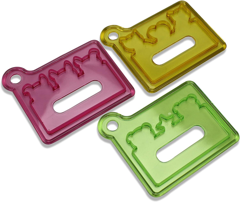 Crear separadores comestibles para Comida Japonesa Bento, moldes cortadores de Forma de Animal: Amazon.es: Hogar