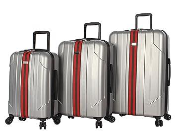 Amazon.com: Steve Madden Hard Case - Juego de maletas (3 ...