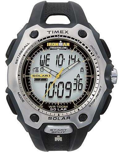 Timex De los hombres IRONMAN TRIATHLON Analógico-Digital Casual Cuarzo Reloj NWT T5G681: Amazon.es: Relojes