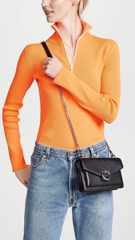 Rebecca Minkoff Womens Jean Crossbody Leather Cross Body Bag