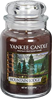Amazon.com: Yankee Candle Company Balsam & Cedar Large Jar Candle ...