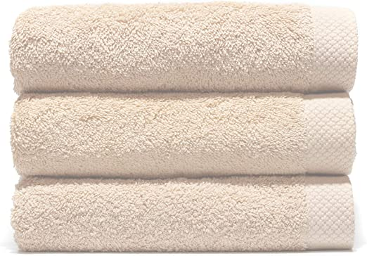 Lasa Juego Toallas, algodón 100%, Nácar, Baño (100 x 150 cm ...