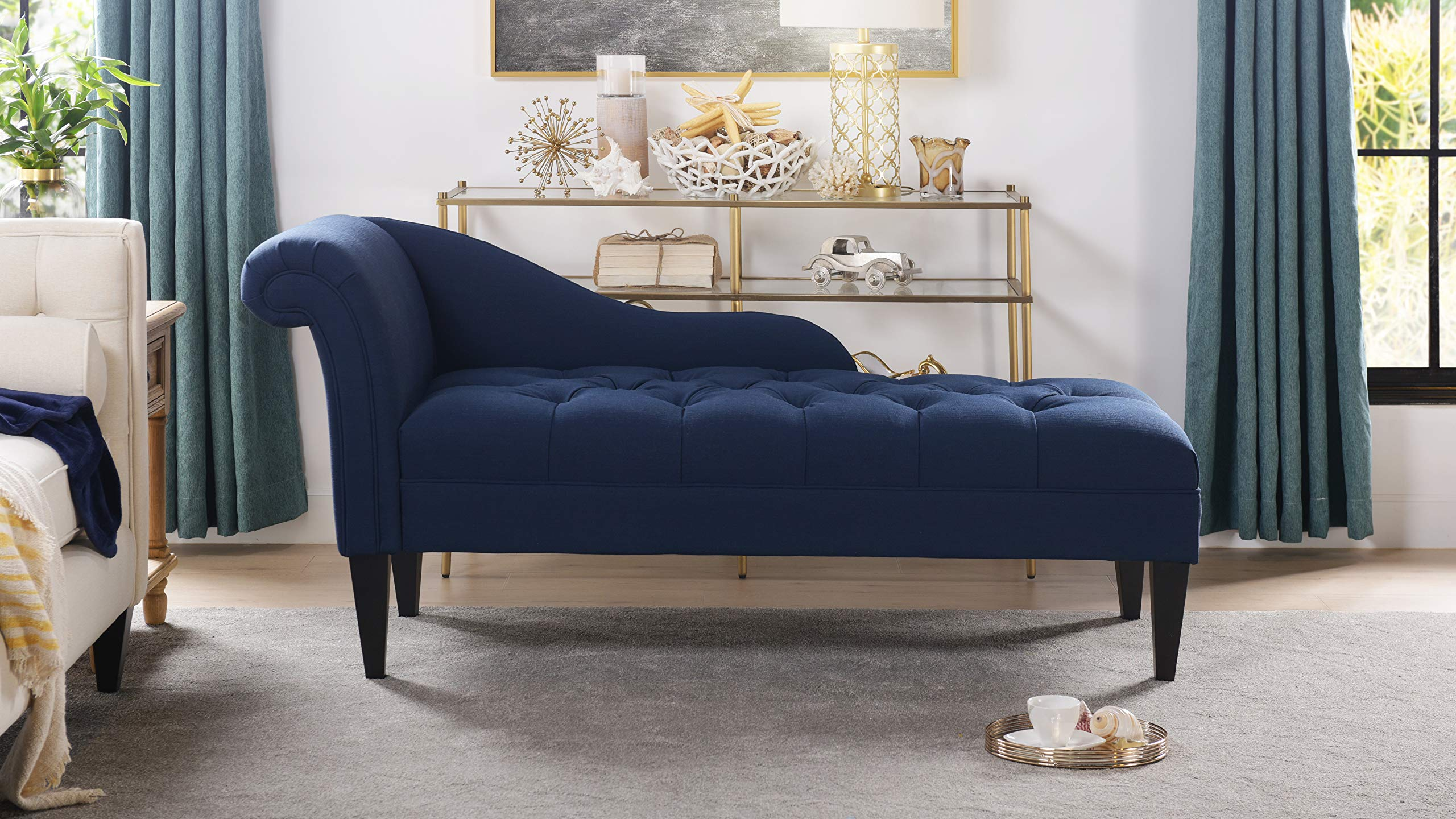 Jennifer Taylor Harrison Right Chaise Lounge, Single, Midnight Blue by Jennifer Taylor