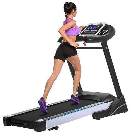 ancheer cinta de correr eléctrica S6200 hochklapp Bar Fitness ...