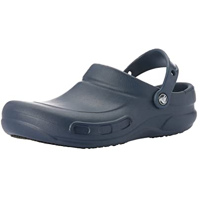 Crocs Bistro Clog, Navy, 15 US Men / 17 US Women | Mules & Clogs