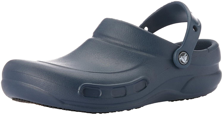 Crocs Men's and Women's Bistro Clog| Slip ResistantComfort Slip On Work Shoe | Lightweight Nursing or Chef Shoe