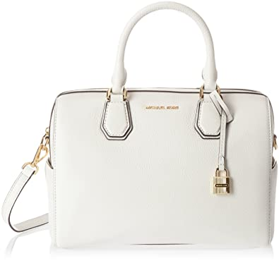 82ef0b25c3 Michael Kors 30H6GM9U2L, sac à main femme - Blanc - Blanc (Optic White 085
