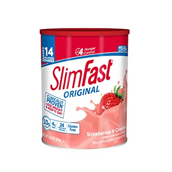SlimFast – Original Meal Replacement Shake Mix Powder – Weight Loss Shake –  10g of Protein