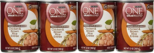 Purina One Tender Cuts Chicken And Rice Food, 12 By 13 Oz.