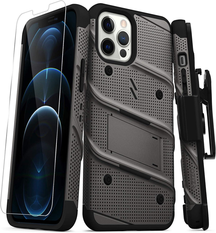 Funda Para iPhone 12 Pro Max Con Protector De Pantalla Zizo