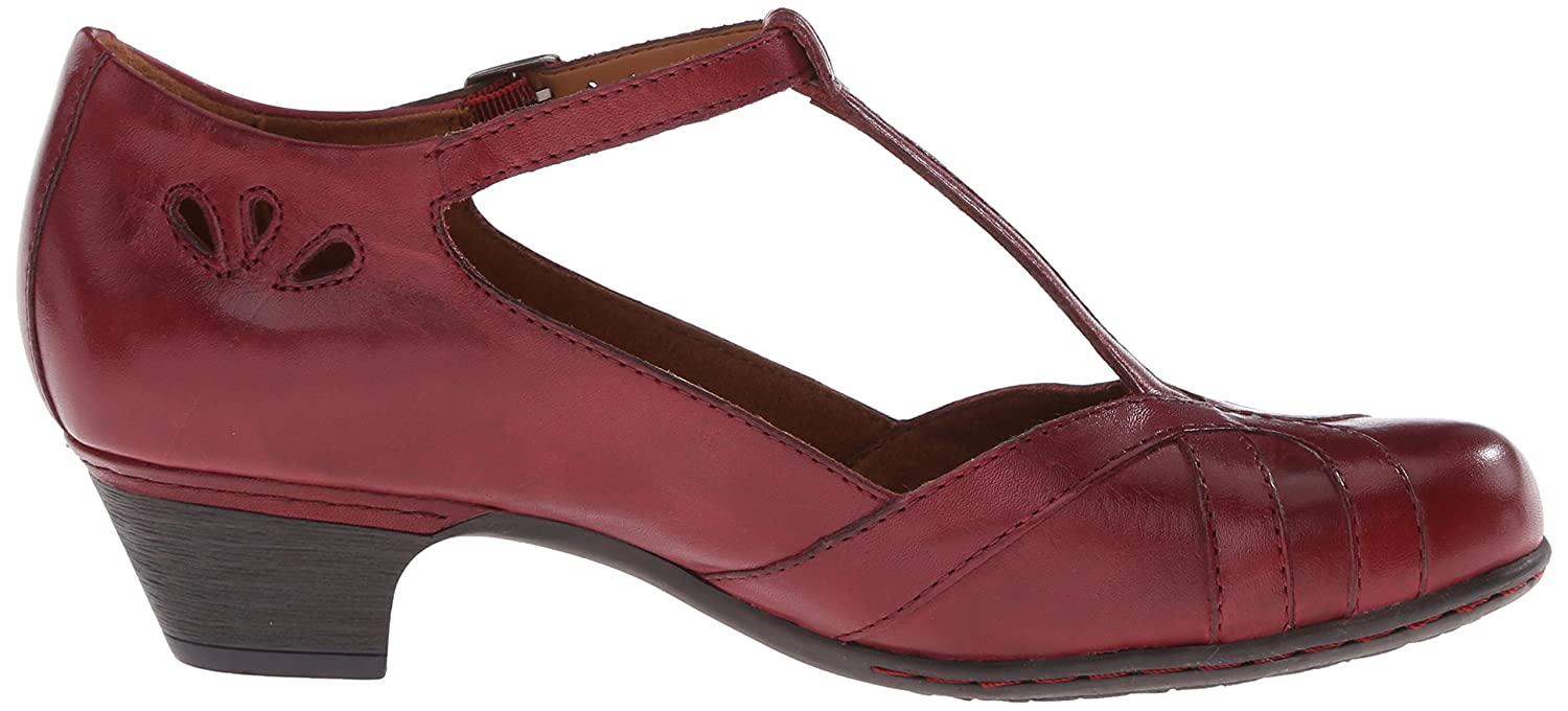 Cobb Hill Rockport Women's Angelina Dress Pump B00SJUR0UG 9.5 B(M) US|Bordeaux
