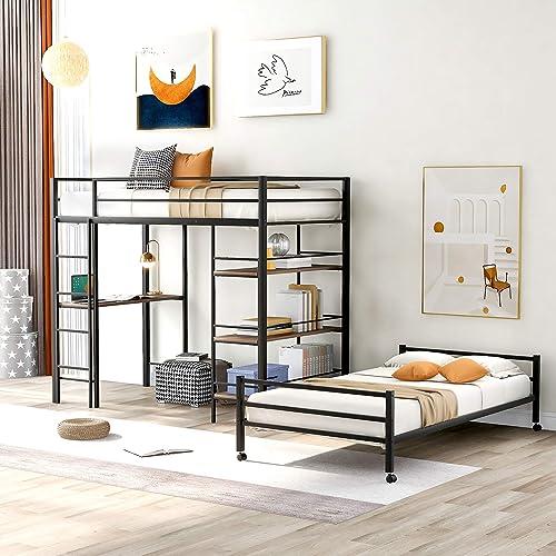 Merax Metal Loft Bed and Platform Bed Review