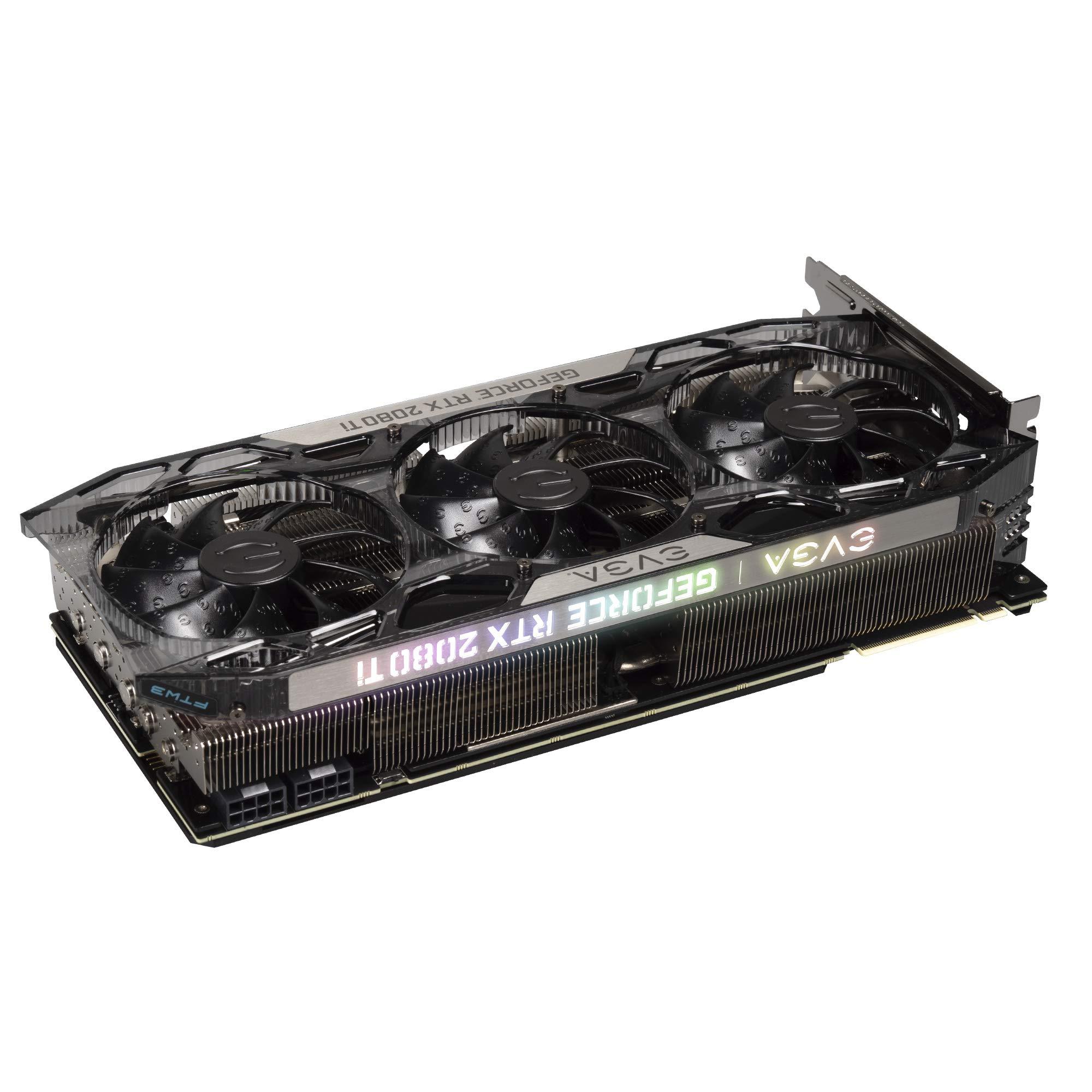 EVGA GeForce RTX 2080 Ti FTW3 Ultra Gaming, 11GB GDDR6, iCX2 & RGB LED Graphics Card 11G-P4-2487-KR by EVGA (Image #6)