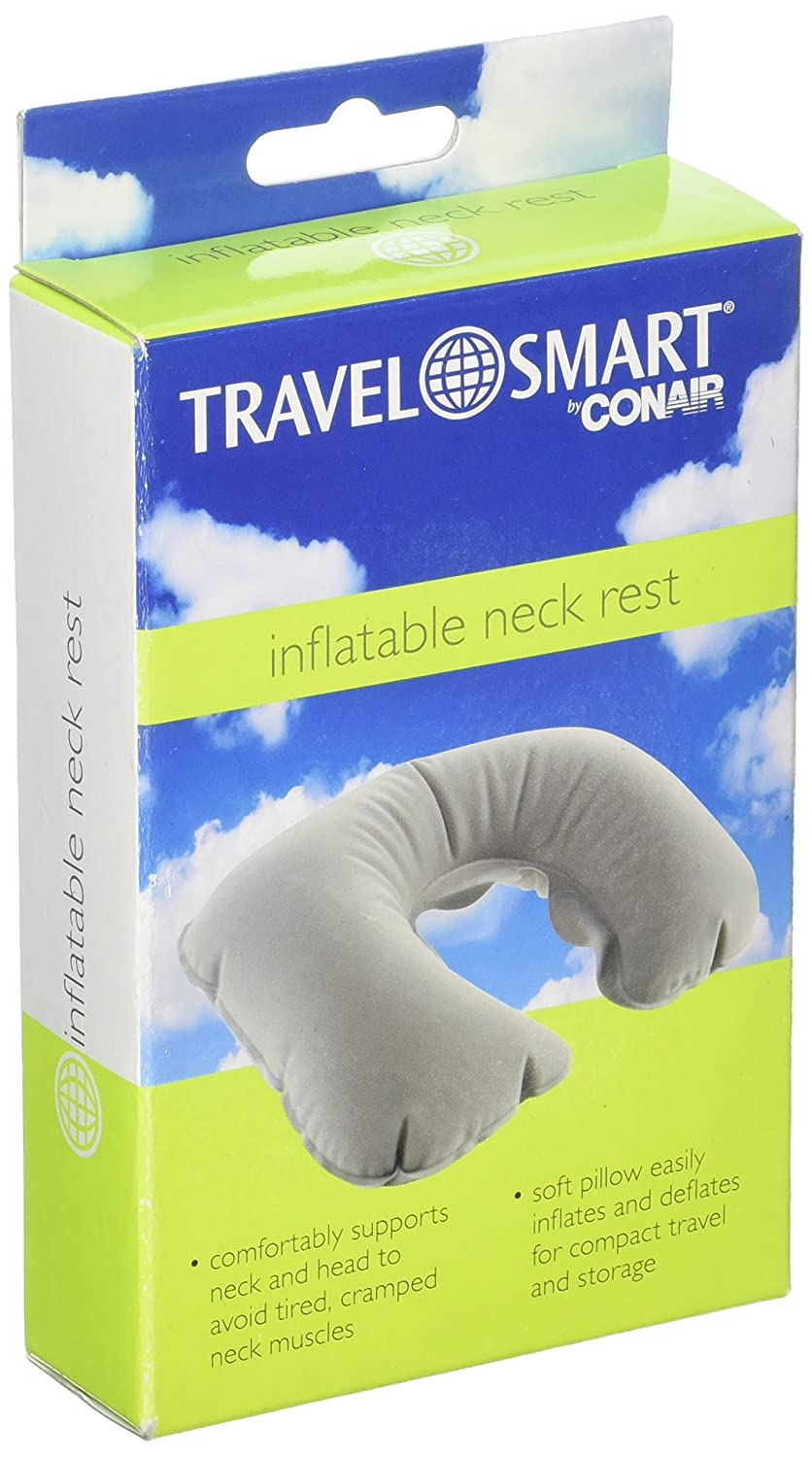 TRAVEL SMART BY CONAIR CNRP4200, Inflatable Neck Rest