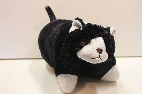 De gato 2-in-1 cojín de gato y almohada de peluche almohada ...