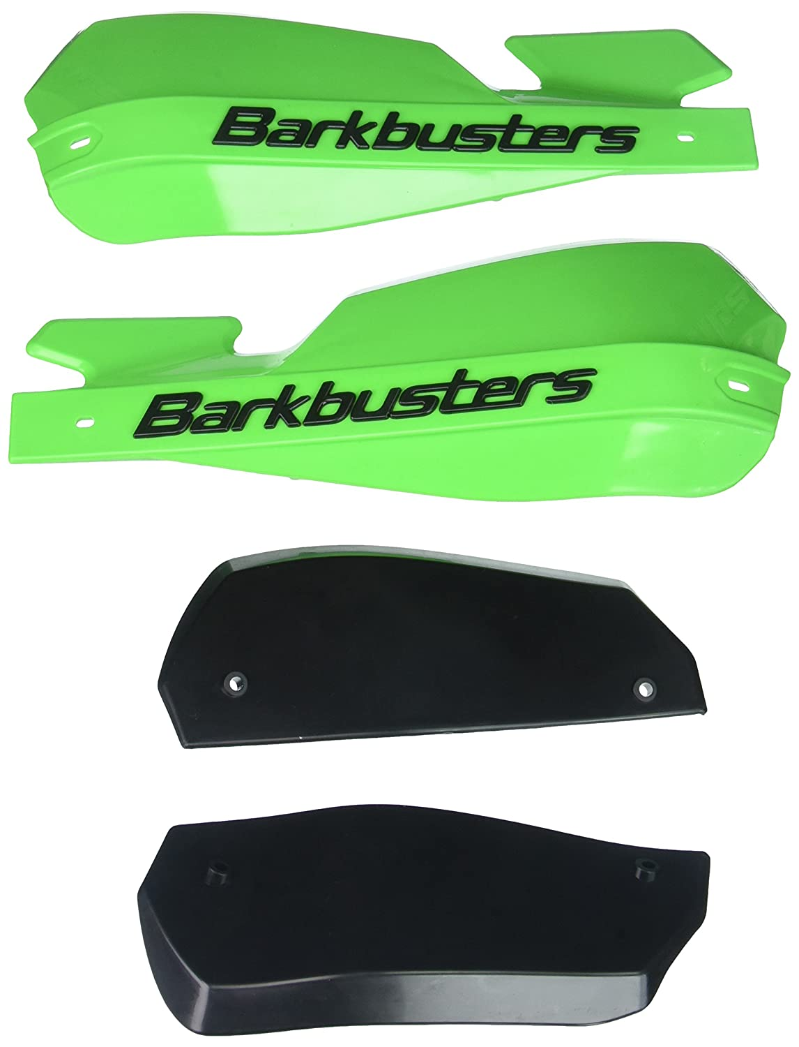 Barkbusters BHG3-RD-WD VPS Red Plastic Guard//Wind Deflector Set with Screws