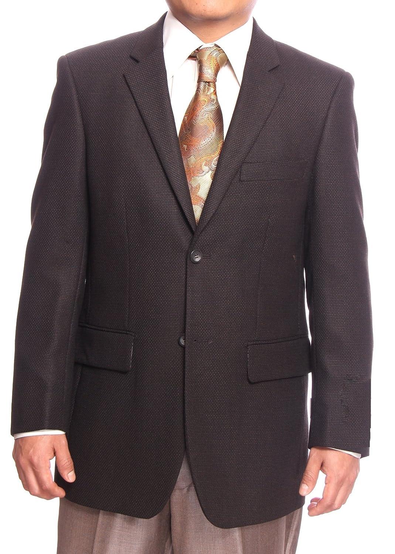 ANDRE LANZINO Men's 2 Button 100% Wool Sport Coat