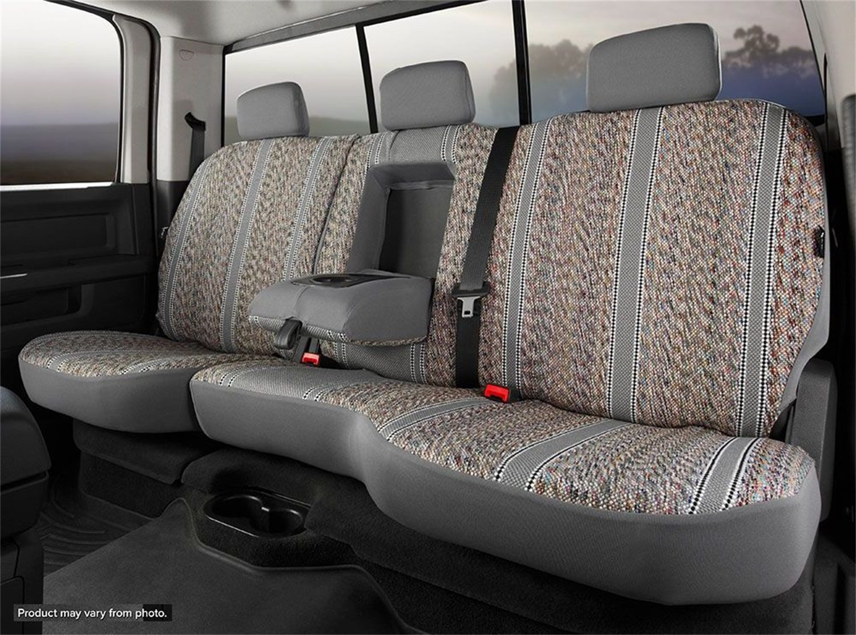 FIA TR484G Gray Seat Cover for Chevrolet Blazer