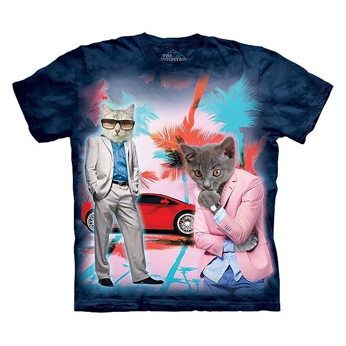 La Montaña Undercover Camiseta, Diseño de Gatos: Amazon.es: Ropa y accesorios