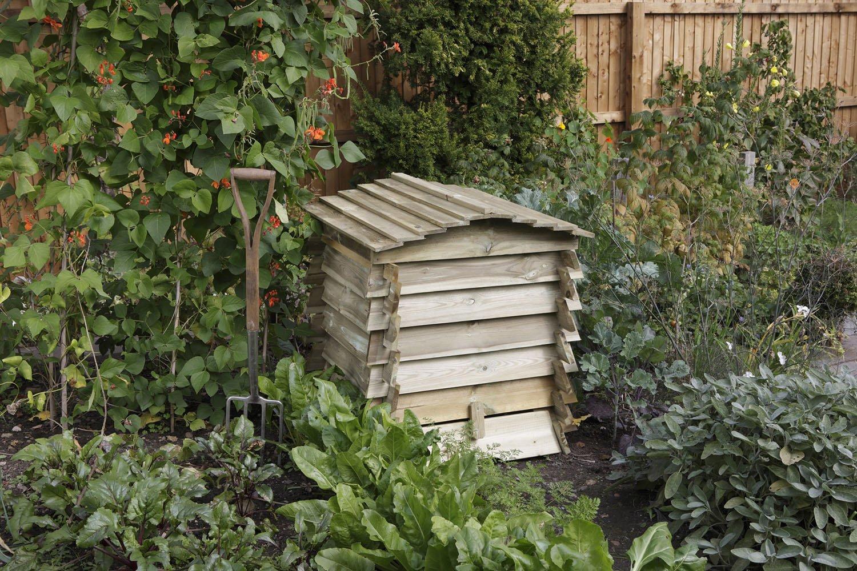 Amazon.com: Bosmere BEECOMP1 Rowlinson Colmena compostador ...