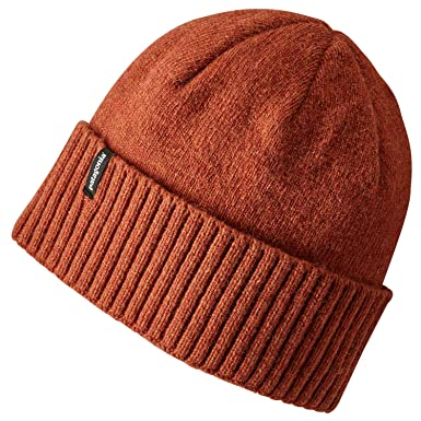 5c5f640fd0e Patagonia Hats Brodeo Beanie Hat - Copper 1-Size  Amazon.co.uk  Clothing