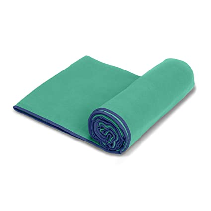 SportLite toalla de playa: 100% microfibra, ultraligero, con pasador para colgar.