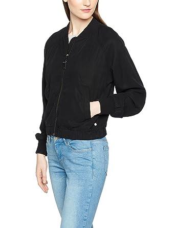 d614115ff435 Marc O Polo Damen Jacke 703032070015, Grau (Desert Black 987), ...