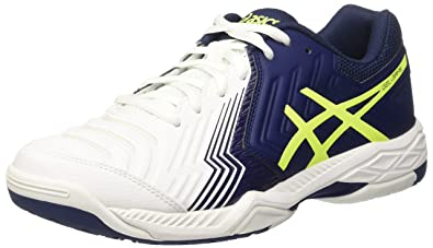 Asics Gel-Game 6, Men's Tennis, Multicolor (White/Indigo Blue/