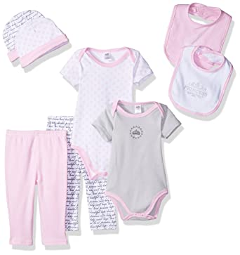 b82a5b841 Amazon.com: Hudson Baby Baby 8 Piece Grow with Me Box Set: Clothing