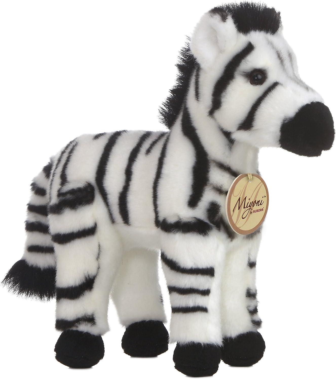 "Aurora World Miyoni 11"" Zebra"