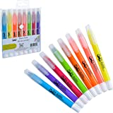 Mr. Pen No Bleed Gel Highlighter, Bible Highlighters, Assorted Colors, Pack of 8