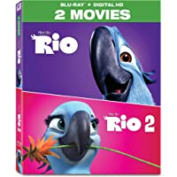 Rio 2-Movie Collection Blu-ray [2Discs]